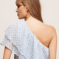 Free People Scarlett One Shoulder Top