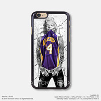 Tattoo Marilyn Monroe Lakers iPhone Case Black Hard case 149