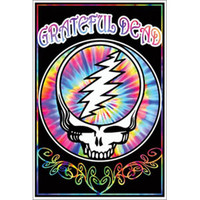 Grateful Dead - Blacklight Poster
