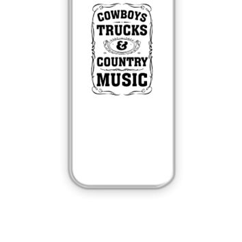 Cowboys, Trucks & Country Music - iPhone 5&5s Case