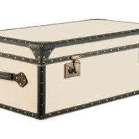 One Kings Lane - Barreveld International - Vintage Canvas Trunk