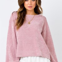 Minkpink | Chenille Jumper Pink | Princess Polly