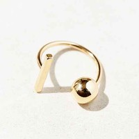 In/Out Ring- Gold