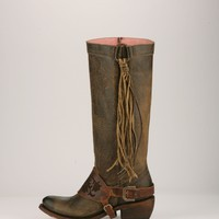 the southbound boot- olive brown
