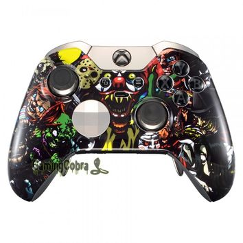 Custom Scare Party Upper Front Shell Cover Mod for Xbox One Elite Controller