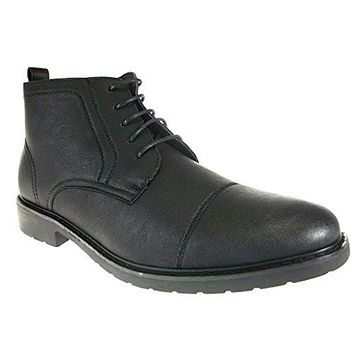 Polar Fox Men's 582 Cap Toe Chukka Ankle High Boots