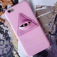 Pink Eyes Cover Case for iPhone 5s 5se 6 6s Plus Gift + Gift Box 338