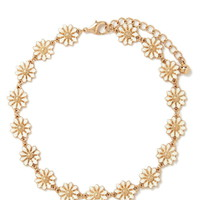 Etched Floral Choker | Forever 21 - 1000205766