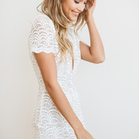 Stone Cold Fox || Luke dress in white