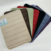 Multiple Sizes- Super Soft Spa Foam Bath Mat- Multiple Colors