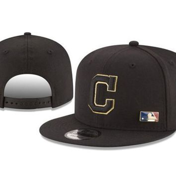 New Arrival New Era Black Cap MLB Baseball Fitted Hat-12