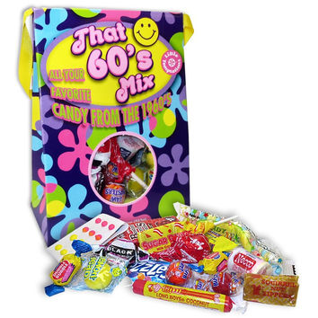 60's Decade Retro Candy Bag