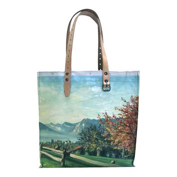 SWARM GOODS~recycled art tote SALE