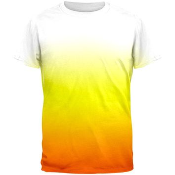 Halloween Candy Corn Ombre Costume All Over Mens T Shirt