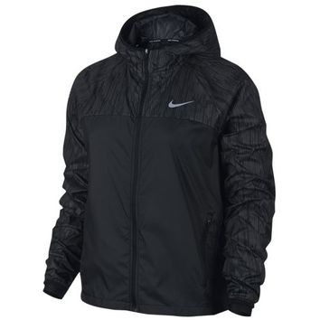 Nike Dri-FIT Shield Flash Racer Jacket - Women's at Lady Foot Locker