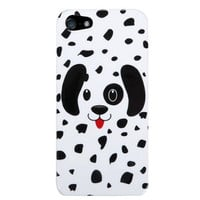 SLectionAccess Animal Design, Cell Phone Case for Apple iPhone 5 - Retail Packaging - Dotted Dalmatian