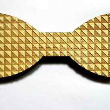 2016 Novelty Fashion Accessories Wood Geometric Bow Tie Men Good Wood Jewelry