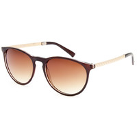 Full Tilt Hi There Sunglasses Brown One Size For Women 24809840001