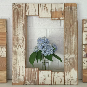 Rustic Wood Picture Frame Reclaimed Wood 16x20 Frame
