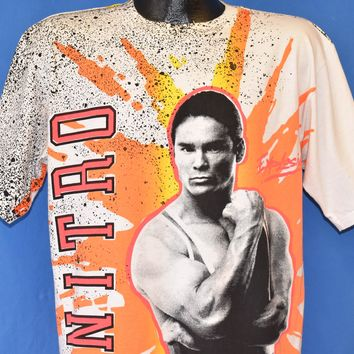 90s American Gladiators Nitro All Over Print t-shirt Large