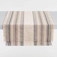 Oversized Striped Surat Table Runner