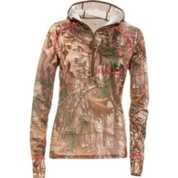 Academy - Game Winner® Women's Dura-Cool Realtree Xtra® 1/4 Zip Performance Hoodie