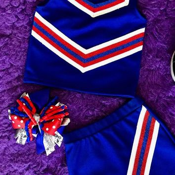 2018 Fall Cheer Set Blue & Red