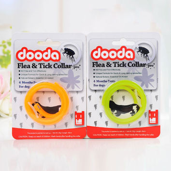 Pet Dog Cat Anti Tick Flea Quick Kill Remover Protection Collar Necklace