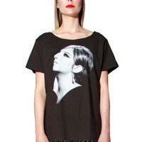 Barbra Streisand Mod Portrait T-Shirt Top