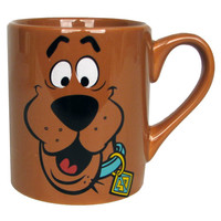 Scooby-Doo Scooby Brown Mug - Silver Buffalo - Scooby-Doo - Mugs at Entertainment Earth