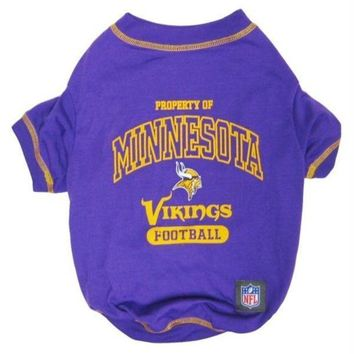 VONEYW9 Minnesota Vikings Dog T-Shirt