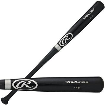 "RAWLINGS OFFICIAL SILVER RING PRO BLACK BAT FULL SIZE 34"" INCH R212AB-34"