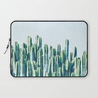 Cactus V2 #society6 #decor #fashion #tech #designerwear Laptop Sleeve by 83oranges.com | Society6