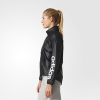adidas Linear Windbreaker - Black | adidas US