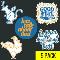 DFTBA - GMM Sticker Pack A