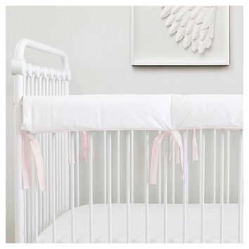 Pure White Lublini | RTS Teething Rail Guard
