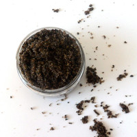 Organic Coffee Scrub, 8 oz, Vegan Beauty, Holiday Gifts
