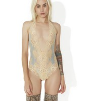Lusty Crumpet Lace Teddy