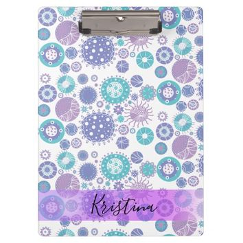 Party Circles Clipboard