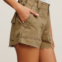 Free People Gunner High Rise Short