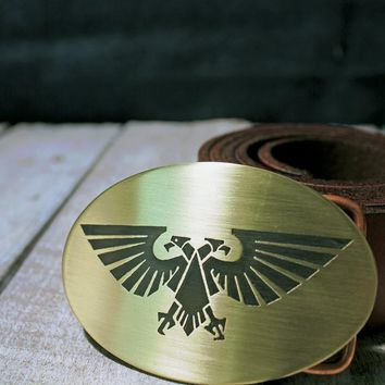 WarHammer 40K Aquila Belt Buckle - Imperial Guard
