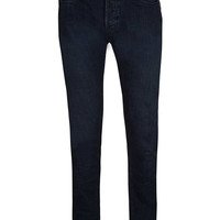 Indigo Coated Stretch Skinny Jeans - Stretch Skinny Jeans - Clothing - TOPMAN USA