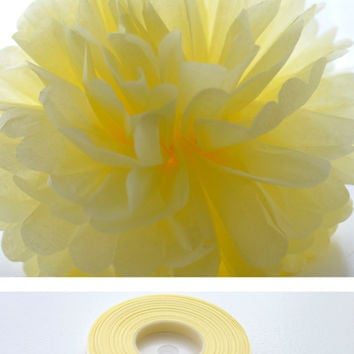 7mm satin ribbon - 25 meters - match to your pompoms