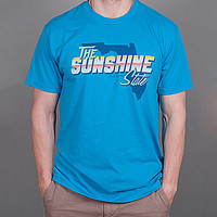 Rowdy Gentleman Florida State Pride Tee - Turquoise