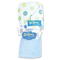 Dr. Seuss ''Oh The Places You'll Go!'' Receiving Blanket by Trend Lab - Blue