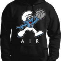 Jordan 3 Powder Blue Hoodie - Air Smurf - Black