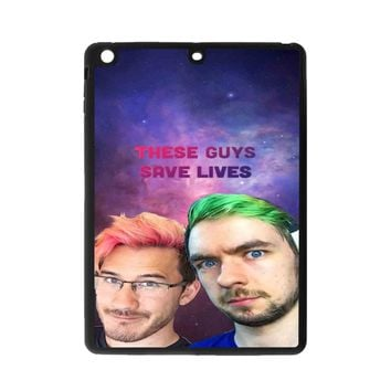 Jacksepticeye And Pewdiepie Markiplier 001  iPad Air Case