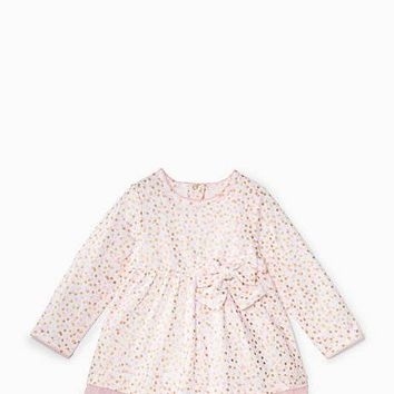 layette dress with tulle
