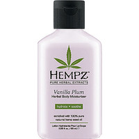 Mini Vanilla Plum Herbal Body Moisturizer