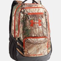 Under Armour UA Storm Hustle Backpack Back Pack - Realtree Camo Hunting Bag